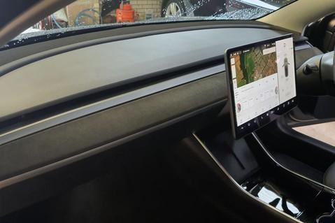 Alcantara Dashboard and Door Trims for Model 3 5