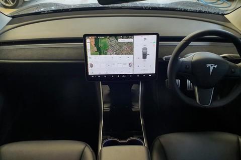 Alcantara Dashboard and Door Trims for Model 3 6