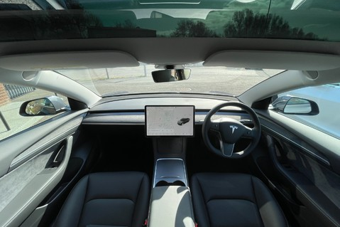 Alcantara Dashboard and Door Trims for Model 3