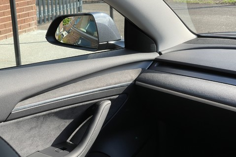 Alcantara Dashboard and Door Trims for Model 3 4