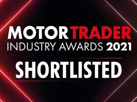 We've Been Shortlisted for a Motor Trader Industry Award