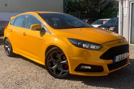 Ford Focus ST-3 TDCI WITH LEATHER AND SAT NAV