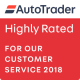 AutoTrader Highly Rated 2018