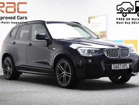 BMW X3 3.0 XDRIVE30D M SPORT 5d 255 BHP Harmon Kardon Sound - Satnav