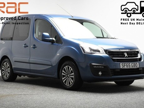 Peugeot Partner 1.6 BLUE HDI TEPEE ACTIVE 5d 100 BHP Cruise Control - AUX - USB 1