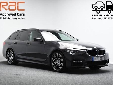 BMW 5 Series 2.0 520D XDRIVE M SPORT TOURING 5d 188 BHP DIGI DASH - HARMAN KARDON SOUND