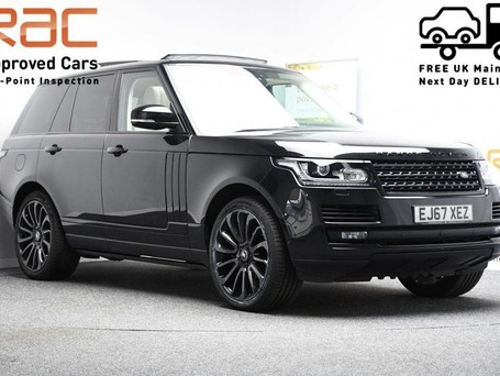 Land Rover Range Rover *PANORAMIC ROOF* 4.4 SDV8 AUTOBIOGRAPHY 5d 339 BHP ***PANORAMIC ROOF ***ARM
