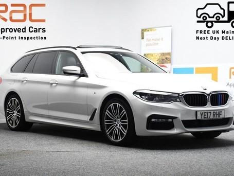 BMW 5 Series 2.0 520D M SPORT TOURING 5d 188 BHP ** PANORAMIC SUNROOF ** DIGI DASH - PAN