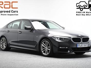 BMW 5 Series 2.0 520D M SPORT 4d 188 BHP Satnav - DAB Radio - Bluetooth