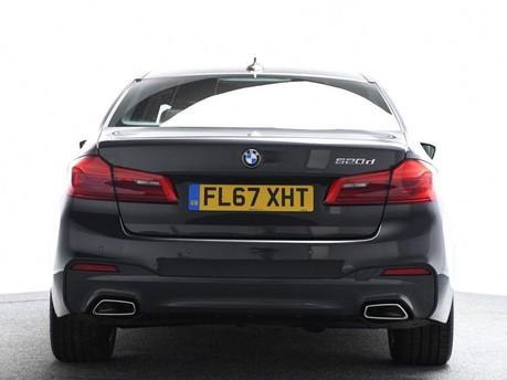 BMW 5 Series 2.0 520D M SPORT 4d 188 BHP Satnav - DAB Radio - Bluetooth 5