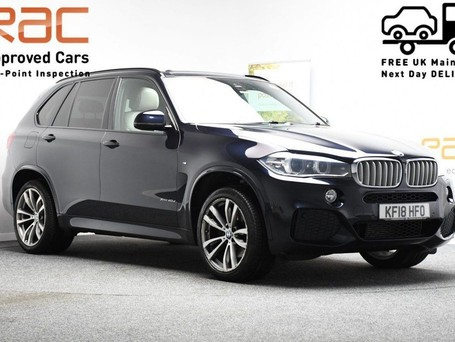 BMW X5 *PANORAMIC ROOF*3.0 XDRIVE40D M SPORT 5d 309 BHP Heads up Display - Privacy