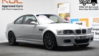BMW M3 3.2 M3 SMG 2d 338 BHP SILVER RED LEATHER INTERIOR SHIFT PADDLES/IN CAR TV-2 1