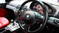 BMW M3 3.2 M3 SMG 2d 338 BHP SILVER RED LEATHER INTERIOR SHIFT PADDLES/IN CAR TV-2 2