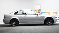 BMW M3 3.2 M3 SMG 2d 338 BHP SILVER RED LEATHER INTERIOR SHIFT PADDLES/IN CAR TV-2 5