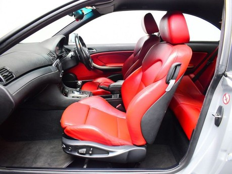 BMW M3 3.2 M3 SMG 2d 338 BHP SILVER RED LEATHER INTERIOR SHIFT PADDLES/IN CAR TV-2 9
