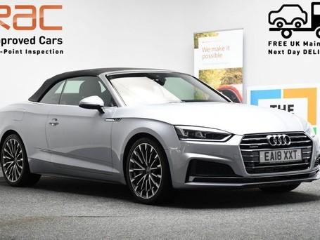 Audi A5 *CONVERTIBLE* 2.0 TFSI QUATTRO S LINE 2d 248 BHP Satnav - DAB Radio - Bluet