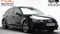 Audi S3 *PANROOF*VIRTUAL COCKPIT* 2.0 S3 TFSI QUATTRO BLACK EDITION 3d 306 BHP *PAN 1