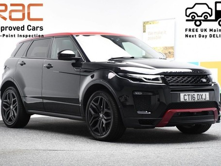 Land Rover Range Rover Evoque *PANORAMIC ROOF* 2.0 TD4 EMBER SPECIAL EDITION 5d 177 BHP ***PANORAMIC ROOF