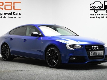 Audi A5 *PANORAMIC SUNROOF*3.0 TDI QUATTRO BLACK EDITION PLUS 5d 242 BHP ***PANORAM