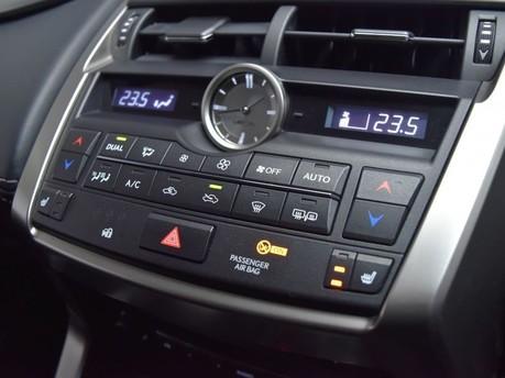 Lexus NX 2.5 300H LUXURY 5d 195 BHP 55+ Miles per gallon 17