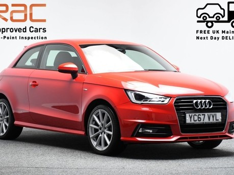 Audi A1 1.4 TFSI S LINE 3d 123 BHP Pearl Misano Red -Audi Drive Select 1