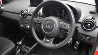 Audi A1 1.4 TFSI S LINE 3d 123 BHP Pearl Misano Red -Audi Drive Select 2