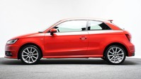 Audi A1 1.4 TFSI S LINE 3d 123 BHP Pearl Misano Red -Audi Drive Select 7
