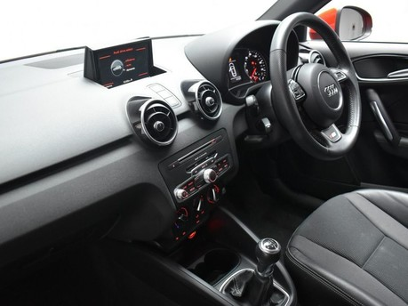 Audi A1 1.4 TFSI S LINE 3d 123 BHP Pearl Misano Red -Audi Drive Select 12