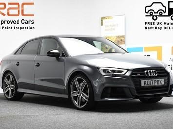 Audi S3 *VIRTUAL COCKPIT* 2.0 S3 TFSI QUATTRO BLACK EDITION 4d 306 BHP ***VIRTUAL C