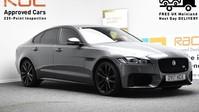 Jaguar XF RED & BLACK LEATHER 3.0 V6 S 4d 296 BHP ***SAT NAV-DAB-USB*** 1