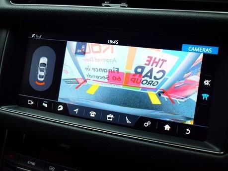 Jaguar XF RED & BLACK LEATHER 3.0 V6 S 4d 296 BHP ***SAT NAV-DAB-USB*** 3