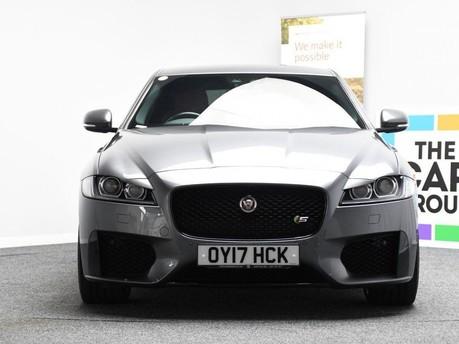 Jaguar XF RED & BLACK LEATHER 3.0 V6 S 4d 296 BHP ***SAT NAV-DAB-USB*** 4