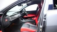 Jaguar XF RED & BLACK LEATHER 3.0 V6 S 4d 296 BHP ***SAT NAV-DAB-USB*** 10