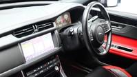 Jaguar XF RED & BLACK LEATHER 3.0 V6 S 4d 296 BHP ***SAT NAV-DAB-USB*** 12