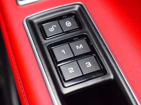 Jaguar XF RED & BLACK LEATHER 3.0 V6 S 4d 296 BHP ***SAT NAV-DAB-USB*** 21