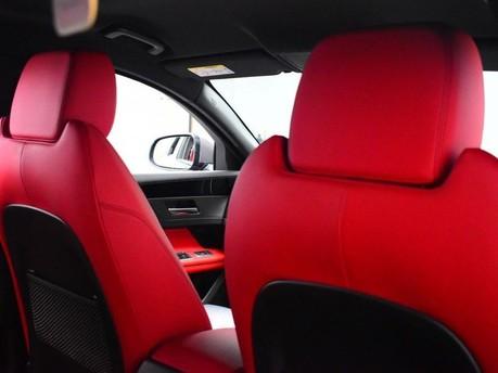 Jaguar XF RED & BLACK LEATHER 3.0 V6 S 4d 296 BHP ***SAT NAV-DAB-USB*** 23