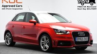 Audi A1 1.4 SPORTBACK TFSI S LINE 5d 185 BHP Satnav - DAB Radio - Bluetooth 1