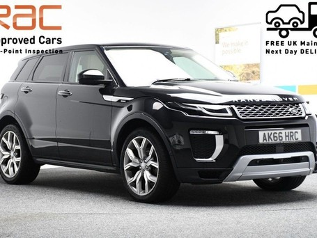 Land Rover Range Rover Evoque 2.0 TD4 AUTOBIOGRAPHY 5d 177 BHP *PANORAMIC GLASS ROOF* ***SAT NAV-DAB-BLUE