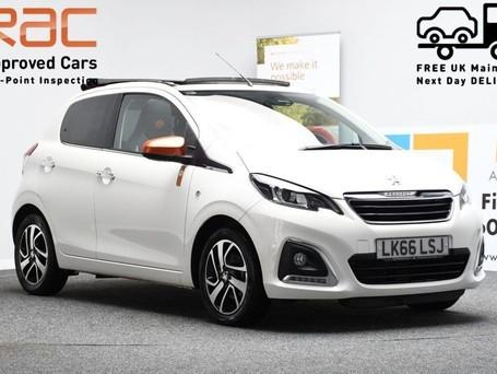 Peugeot 108 1.2 PURETECH ROLAND GARROS TOP 5d 82 BHP Bluetooth - Air Conditioning