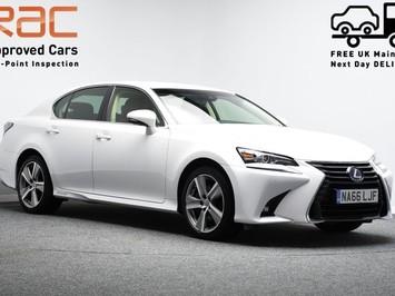 Lexus GS 2.5 300H LUXURY 4d 220 BHP Satnav - DAB Radio - Bluetooth