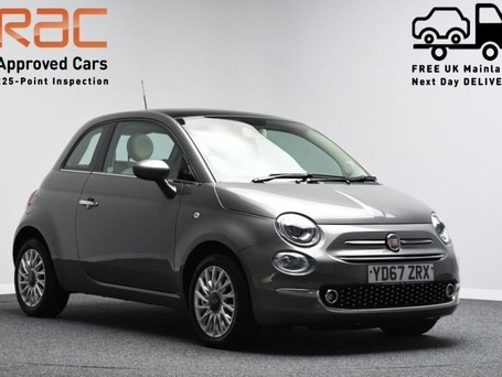 Fiat 500 1.2 LOUNGE 3d 69 BHP 0 PREVIOUS OWNER