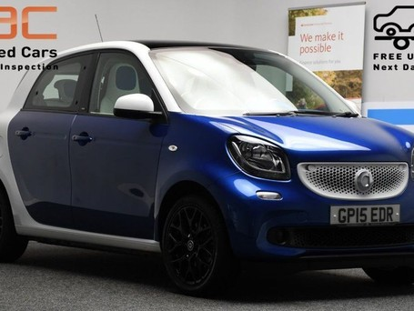 Smart Forfour **PANORAMIC ROOF** 0.9 PROXY T 5d 90 BHP ***PANORAMIC ROOF ***