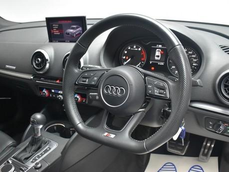 Audi S3 2.0 S3 TFSI QUATTRO BLACK EDITION 4d 306 BHP Paddle Shift - Privacy Glass - 2