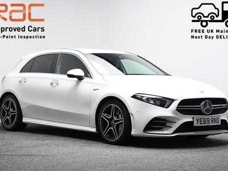 Mercedes-Benz A Class *VIRTUAL COCKPIT*2.0 AMG A 35 4MATIC PREMIUM 5d 302 BHP Satnav - Virtual Co