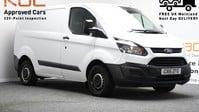 Ford Transit Custom 2.2 270 LR P/V 99 BHP Rear Bulkhead - Ply Lined 1