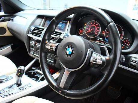 BMW X4 2.0 XDRIVE20D M SPORT 4d 188 BHP ***SAT NAV-DAB-BLUETOOTH*** 2