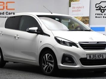 Peugeot 108 1.2 ALLURE 5d 82 BHP