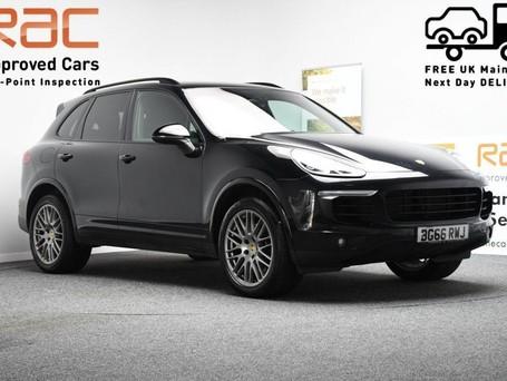Porsche Cayenne 3.0 D V6 PLATINUM EDITION TIPTRONIC S 5d 258 BHP ***SAT NAV-DAB-BLUETOOTH**