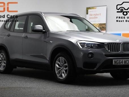 BMW X3 3.0 XDRIVE30D SE 5d 255 BHP ***SAT NAV-DAB-BLUETOO