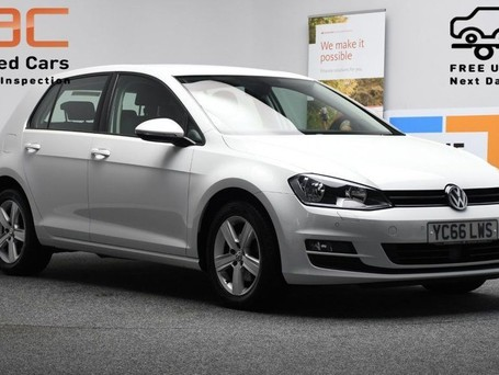 Volkswagen Golf 1.6 MATCH EDITION TDI BMT DSG 5d 109 BHP ADAPTIVE CC + HEATED SEATS